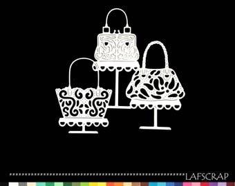1 cut scrapbooking trio Bag Shop bridal wedding accessories Princess fairy scrapbooking die cut Scrapbook embellishment