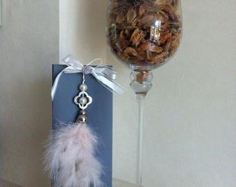 Free shipping! large gray chic Lavender sachet