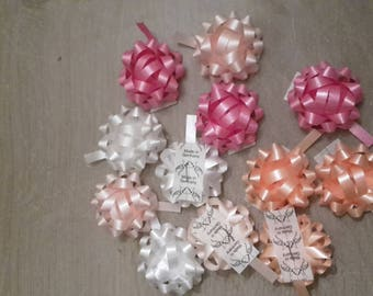 Pink gifts package bows
