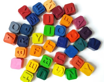 Complete Set of Alphabet Crayons