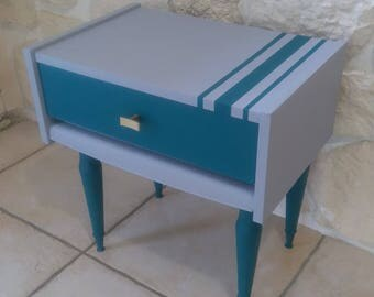 bedside table, 60s, redesigned