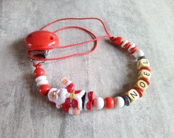 Pacifier Santa pattern 027