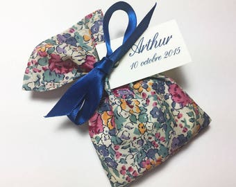 10 sachets personalized Claire Aude Liberty dragees