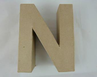 "Letter 3D decoration for home decor ""N"""