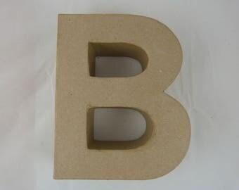 "Letter 3D decoration for home decor ""B"""