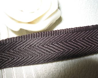 Ribbon terylene heel 100% polyester 14 mm x 5 meters