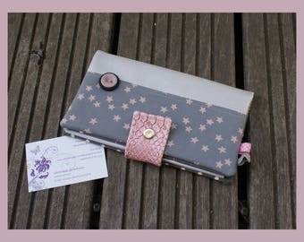 "checkbook, ""little star"" card holder"