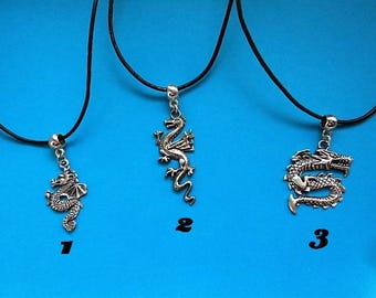 Dragon pendant with free gift pouch choice of 1