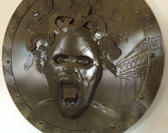 Metal Medusa wall Shield