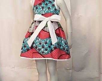 Wax girl dress. Very trendy. HAND MADE