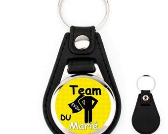 Keychain leather EVJH