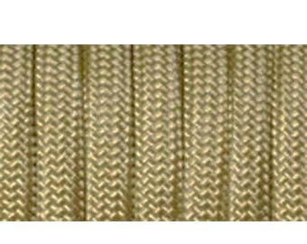 Paracord 550 type III length 1 m gold