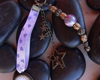 "Jewelry bag keychain ""MOM I love you"""