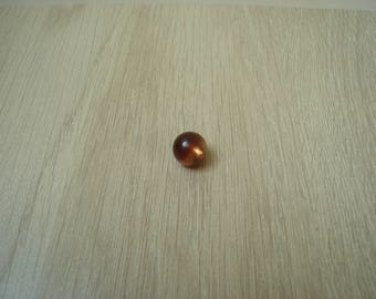 Brown Pearl button Pearl resin