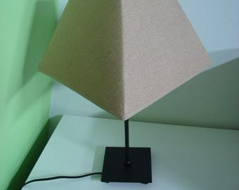 lamp black Lampshade toutche beige