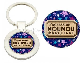 """DOOR keys DELUXE """"occupation: nanny magician"""""""