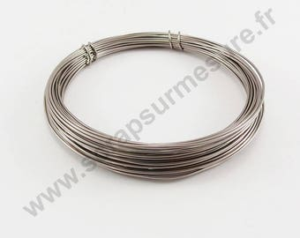 Aluminum Ø 1 mm x 5 m - old ROSE - wire