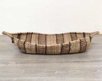 Vintage Boat Basket