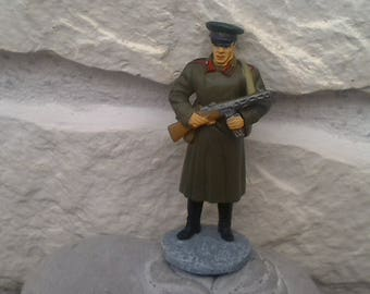 Lead soldier officer German collection