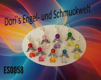 Beaded Angel / Angel 8 pieces (235)