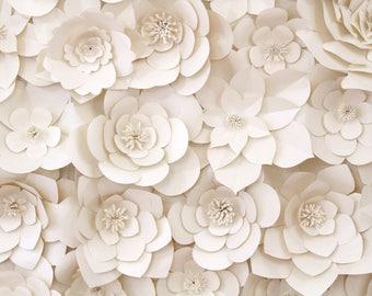 65 Paper Flower - Backdrop