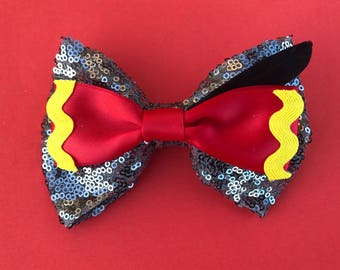 Dumbo Hair Bow Disney Inspired Bow Elephant