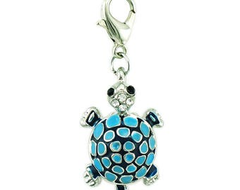 Blue turtle Charms pendant