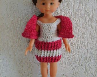 Dress and bolero doll 33cm