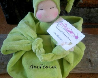 Blanket style waldorf Apple green