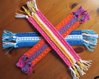 Knitted and Beaded Bookmark Kits