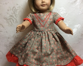 American Girl Doll dress perfect for fall