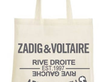 Tote bag ZADIG & VOLTAIRE bis willy Crest art is truth