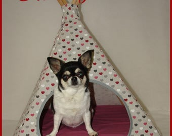 Teepee for small dogs and cats