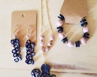 Octopus Jewelry Set