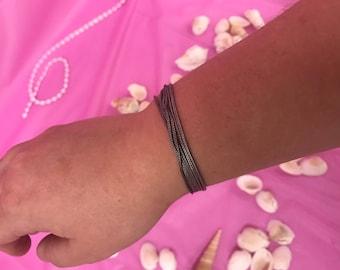 925 silver rope bracelet