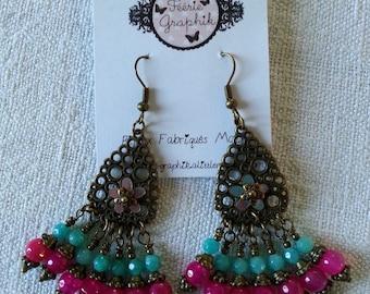 Earrings Bohemian Bohemian Girl Collection
