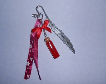 "Bookmark jewel ""Elixir of love Apple"""