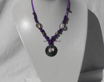 Adjustable necklace CL.0227 Chinese knots