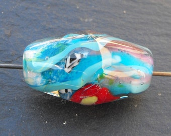 biconical PERL.1909 Murano glass bead