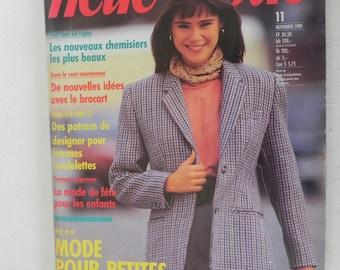 NEUE MODE November 1989 magazine