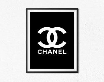 Chanel logo | Etsy