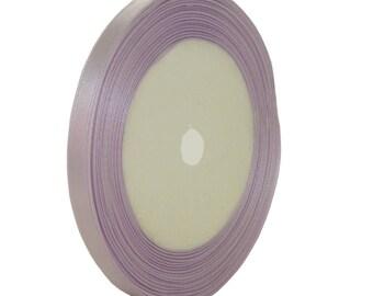 22metres 7mm purple satin ribbon roll