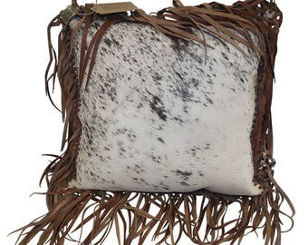 Hair on Hide Pillow Exclusively by Partners Western Company