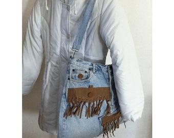 Waterproof lining Cowgirl by BAGART bag denim bag