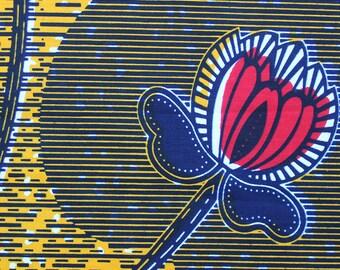 Wax flowers fabric