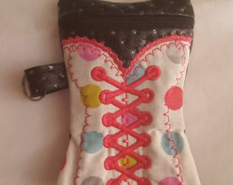 Corset for summers evenings pouch