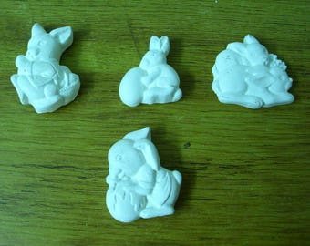 Set of 4 cast 'Rabbit'