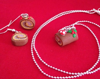 """""""Christmas collection"""" fimo finery log pastry chef"""