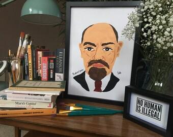 Vladimir Lenin Poster Print