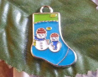 1 pendant in enamel alloy for the holidays from 25 mm